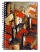The Roofs Of Lyon Spiral Notebook
