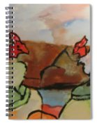 The Roosters Spiral Notebook