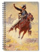 The Roping Spiral Notebook