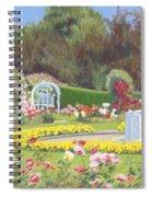 The Rose Garden Spiral Notebook