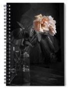 The Rose Grew Pale And Left Her Cheek Spiral Notebook