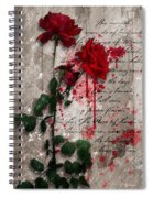 The Rose Of Sharon Spiral Notebook