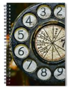 The Rotary Dial Spiral Notebook