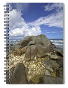 The Rough Side Of Aruba Spiral Notebook