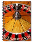 The Roulette Wheel Spiral Notebook