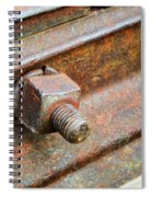 The Roundhouse Evanston Wyoming - 4 Spiral Notebook