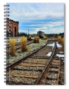 The Roundhouse Evanston Wyoming - 5 Spiral Notebook