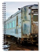 The Roundhouse Evanston Wyoming Dining Car - 1 Spiral Notebook
