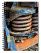 The Roundhouse Evanston Wyoming Dining Car - 2 Spiral Notebook