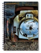The Roundhouse Evanston Wyoming Dining Car - 3 Spiral Notebook