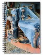 The Roundhouse Evanston Wyoming Dining Car - 4 Spiral Notebook