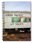 The Roundhouse Evanston Wyoming Dining Car - 5 Spiral Notebook