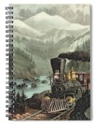 The Route To California Spiral Notebook