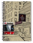 The Royal Alex On King Street Spiral Notebook