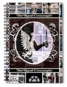 The Royal Connaught Crest Photo Collage Spiral Notebook