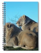 The Royal Couple Spiral Notebook