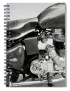 The Royal Enfield Motorbike Spiral Notebook