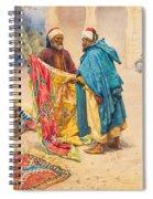 The Rug Merchant Spiral Notebook