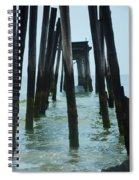 The Ruins Of The 59th Street Pier  Spiral Notebook