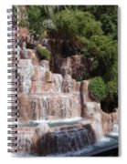 The Rush Of Water Spiral Notebook