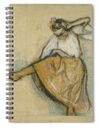 The Russian Dancer Spiral Notebook