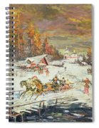The Russian Winter Spiral Notebook