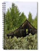 The Rustic Barn Spiral Notebook