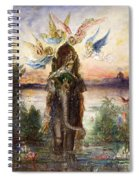 The Sacred Elephant Spiral Notebook