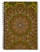 The Sacred Sunset In Golden Light Spiral Notebook