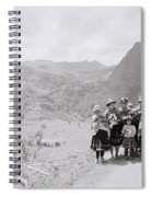The Sacred Valley Spiral Notebook