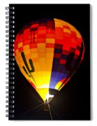 The Saguaro Balloon  Spiral Notebook