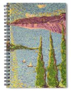 The Sailing Cove Spiral Notebook