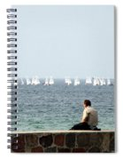 The Sailor With No Boat Spiral Notebook
