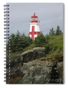 The Sailor's Signpost Spiral Notebook