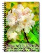 The Same Spirit Spiral Notebook