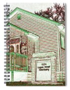 The Sanctuary 2 Spiral Notebook
