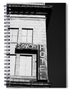 The Savoy Hotel Spiral Notebook