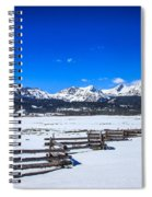The Sawtooth Mountains Spiral Notebook