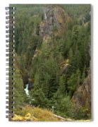 The Scenic Cheakamus River Gorge Spiral Notebook