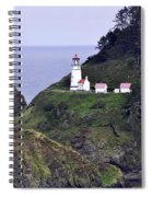 The Scenic Lighthouse Spiral Notebook