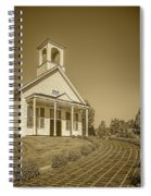 The Schoolhouse Hdr Spiral Notebook