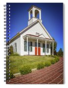 The Schoolhouse Spiral Notebook
