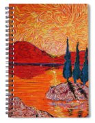 The Scot And The Mermaid Spiral Notebook