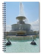 The Scott Fountain On Belle Isle Spiral Notebook