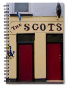 The Scottsmans Bar - Donegal Ireland Spiral Notebook