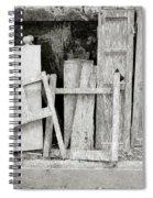 The Scrap Yard Spiral Notebook