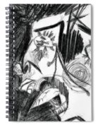 The Scream - Picasso Study Spiral Notebook