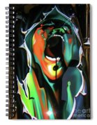 The Scream - Pink Floyd Spiral Notebook