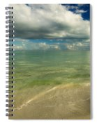 The Sea And The Sky Spiral Notebook