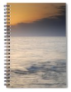 The Sea Before The Rain Spiral Notebook